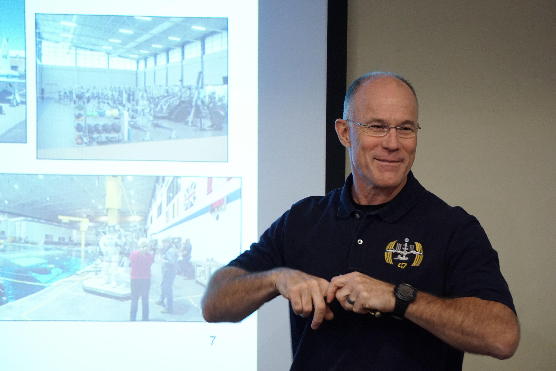 Dr. Rick Scheuring, NASA Flight Surgeon, Presents at National Jewish Health