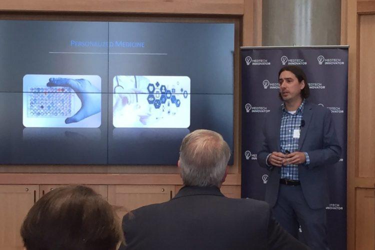 Eric Hoffman Pitching at MedTech Innovator Denver 2017