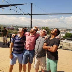 Nothing Like a Solar Eclipse to Bring Friends Together