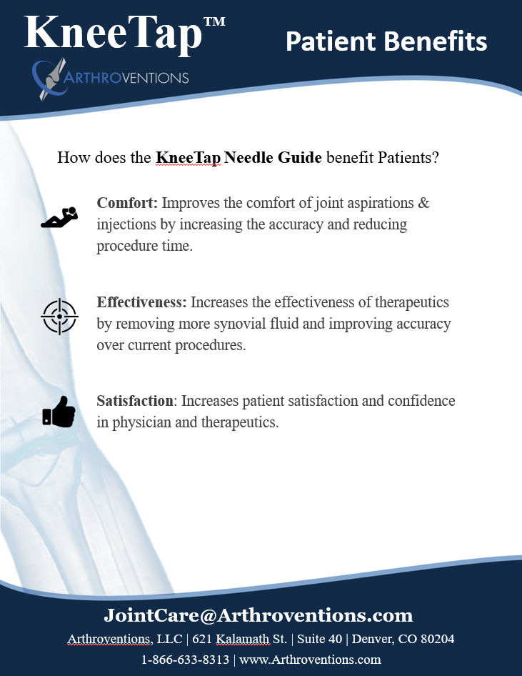 KneeTap Product Overview - Patient Benefits