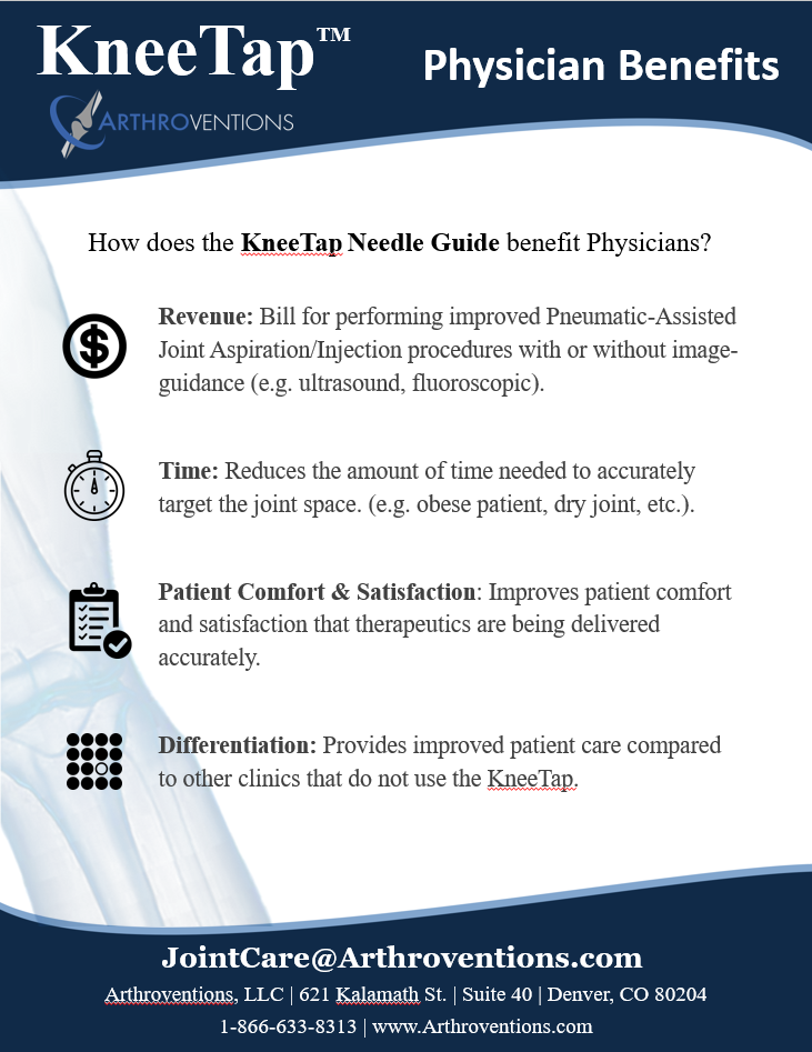KneeTap Product Overview - Physician Benefits