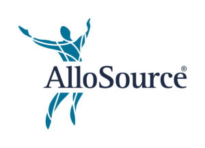 AlloSource Logo Tissue Processing Facility
