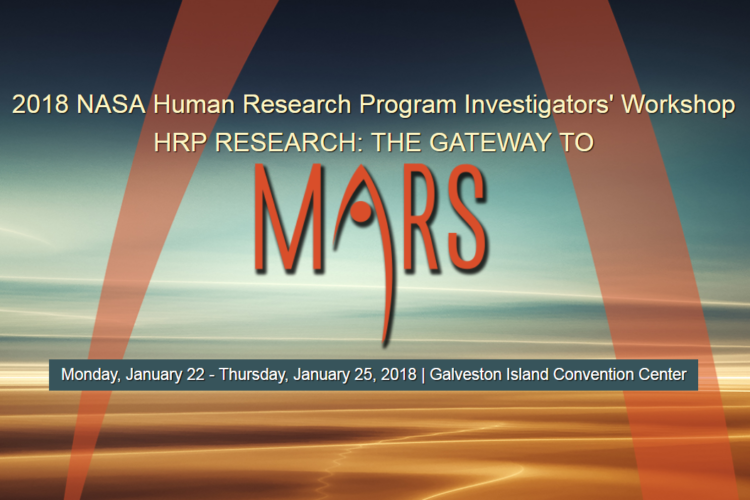 Arthroventions to Attend 2018 NASA Human Research Program Investigator's Workshop